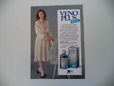 advertising Pubblicità 1985 VENO PLUS e CARLA FRACCI