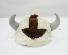 The Last Airbender Appa Avatar Plush Hat Costume Cosplay Handmade