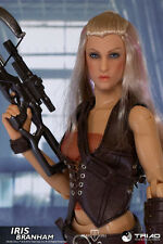TRIAD TOYS - DEAD CELL - IRIS BRANHAM - 1/6 COLLECTIBLE FIGURE - IN USA!!!!!