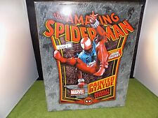Marvel BOWEN Statue The Amazing Spider-Man SCARLET VERSION displayed (DVW 3)
