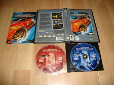 NEED FOR SPEED UNDERGROUND 1 PARA PC EN CAJA FINA CON 2 DISCOS USADO COMPLETO