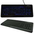GRUNDIG Multimedia Tastatur LED Beleuchtet Deutsch QUERTZ USB Keyboard Backlight