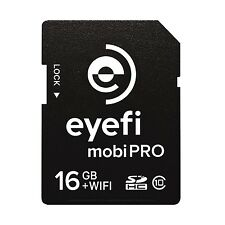 Eye-Fi Mobi Pro 16GB WiFi SDHC CARD + 1 year Eyefi Cloud 16 GB