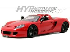 JADA 1:24 PORSCHE CARRERA GT DIE-CAST RED 96955