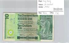 BILLET HONG KONG - 10 DOLLARS 1980