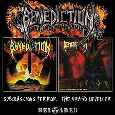 2 CD SET BENEDICTION SUBCONSCIOUS TERROR + THE GRAND LEVELLER BRAND NEW SEALED
