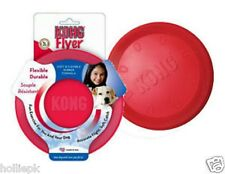 KONG FLYER FRISBEE LARGE DURABLE FOR DOGS FROM 13 TO 30K FLEXIBLE THROW CATCH