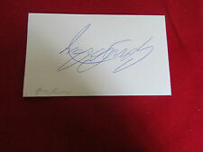 Gary COSBY  Nottingham Forest  1980's Original Hand Signed  FOOTBALL Card