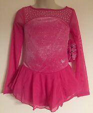 Figure Skating NEW Competition Dress Child L 10 Ice Skate Pink NWT Justice