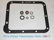 Shifter Control Lever Linkage Reseal Kit & Pan Gasket--Fits All C4 Transmissions