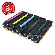 5PK CE410A CE411A CE412A CE413A Toner Set for HP 305A Laserjet Pro 400 M451 M475