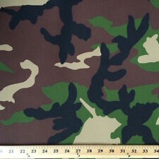 """Prints Canvas Waterproof / UV Protected Outdoor Fabric Pro Tuff Camo 60"""" Wide"""