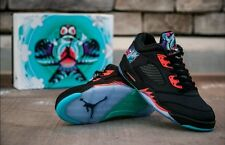 NIKE AIR JORDAN RETRO 5 Low Chinese New Year Size 13 CNY **AUTHENTIC**