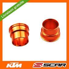 ENTRETOISE DE ROUE AVANT KTM SX SXF SX-F EXCF EXC-F 125 250 350 450 03-14 ORANGE