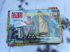vintage ACTION MAN original 1970s SPECIAL OPERATIONS TENT palitoy FIGURE