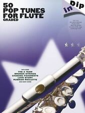 50 Graded Pop Flute Solos Sheet Music Book. Lady Gaga Adele Ed Sheeran Beyonce