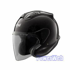 NEW IN BOX ARAI MZ GLASS BLACK 57-58cm M Medium HELMET MADE IN JAPAN