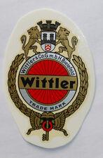 Wittler Schriftzug Abziehbild Wasserabziehbild 39 x 58 mm, 11822W,