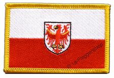ITALIEN SüDTIROL AUFNÄHER Flaggen Fahnen Patch Aufbügler 8x6cm