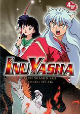 InuYasha . The Complete Season Six . 6. Staffel . Inu Yasha . Anime .. 4 DVD NEU