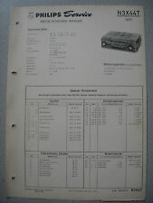 PHILIPS n3x44t Autoradio Service Manual, edizione 03/64