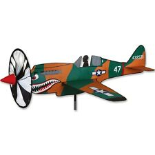 "P-40 (20 x 16"") Warhawk Replica Staked Wind Airplane Spinner with Pole PR 26331"
