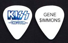 KISS Gene Simmons Guitar Pick - 2012 Tour - Blue Outlined Logo