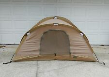 USMC Military Eureka Diamond Combat Tactical Tent With Woodland Rain Fly