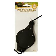 Hanging Basket Pull Down Hanger Retractable Pulley Garden Baskets Plant Pots New