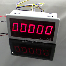 "1pcs 0.56"" DIGITAL Red LED Frequency and Tachometer Rotate Speed Meter DC 12-24V"