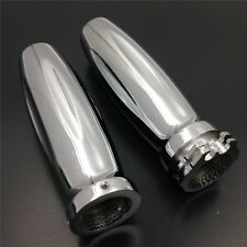 "Billet Aluminum 1"" 25mm Hand Grips For Harley Street Bob/ Honda Shadow 1100 Aero"