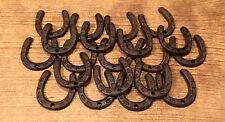 """Extra-Small Horse Shoe Rustic Cast Iron 2"""" by 2"""" Tall (Case of 100) 0170S-05211"""