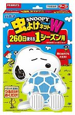 F/S Snoopy anti-insect net W 260 days Earth Chemical Bapona Made in japan