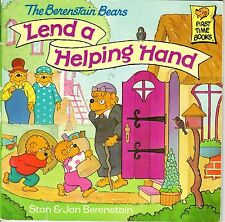 1998 The Berenstain Bears Lend a Helping Hand by Stan & Jan Berenstain