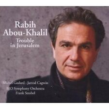 RABIH ABOU-KHALIL - TROUBLE IN JERUSALEM  CD NEU