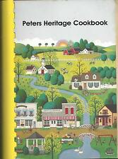 *SIOUX FALLS *MARION JUNCTION SD 1995 ABE PETERS FAMILY *HERITAGE COOK BOOK RARE