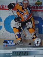 72 Martin Lindman Eisbären Berlin DEL 2000-01
