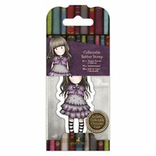 Gorjuss Collectable Rubber Stamp -Santoro -No. 32 Little Violet