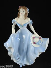 PRETTY COALPORT LADIES OF FASHION FIGURINE - PAMELA