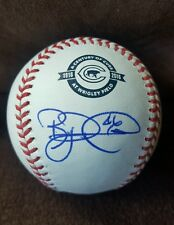 RYAN DEMPSTER signed 2016 100th Season CUBS WRIGLEY baseball CHICAGO CUBS w/COA