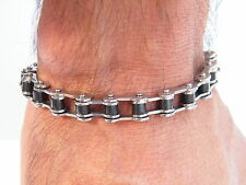 BRACELET STAINLESS STEEL 316L BIKE CHAIN MEN'S JEWELLERY BRACELET