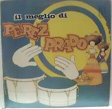PRADO PEREZ IL MEGLIO DI PEREZ PRADO LP ITALY GRAFICA PIERO NOCERINO  RARO