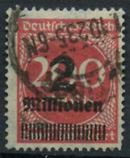 Germany SG#302a 2m On 200m Rose-Red Used #A85109