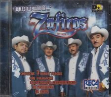 Los Zafiros Del Norte Lo Mas Alterado  CD New Nuevo sealed
