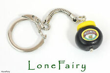 Polymer Clay Marmite Keyring Food Jewellery kitsch Retro Key Chain