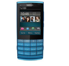 Nokia X3-02 Touch and Type - blue (Unlocked) Cellular Phone Free Shipping