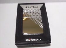 NEW IN BOX ZIPPO ARMOR CASE 2011 A-11 ENGINE TURNED DIAMOND CIGARETTE LIGHTER