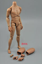 NEW 1/6 Caucasian Male Narrow Shoulder Nude Body Action Figure B006 New Version