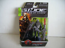 2008 Hasbro gi joe rise of cobra attaque sur la fosse neo-viper action figure