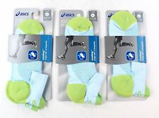 Asics Cooling Single Tab Running Socks Large Mens 9.5-11.5 Womens 10+ Pack of 3